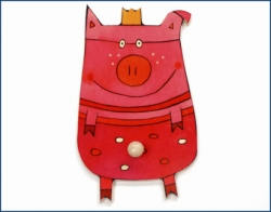 Garderobe Schwein